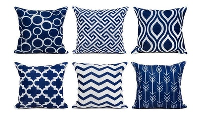 Top Finel Accent Decorative Throw Pillows (Set of 6)