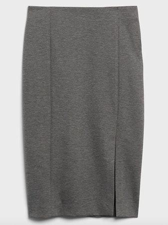 24-Hour Ponte Pencil Skirt