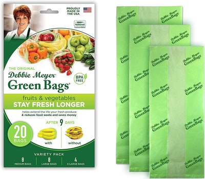 Debbie Meyer Produce Green Bags (20 Count)