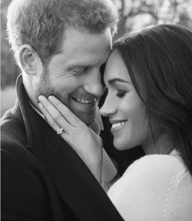 Prince Harry and Meghan Markle's romantic engagement photos.