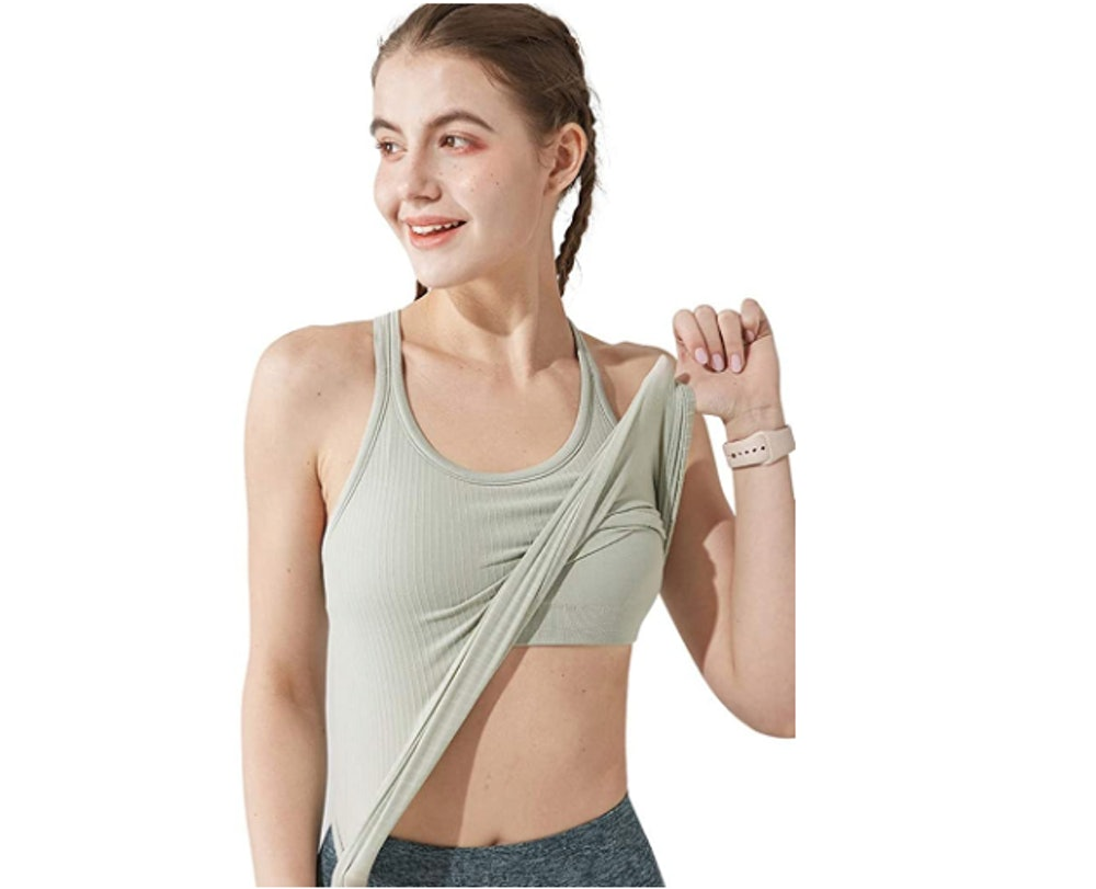 sphinx cat Yoga Racerback Tank Top