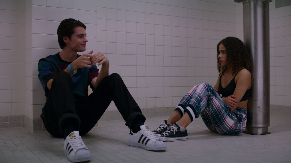 FELIX MALLARD as MARCUS and ANTONIA GENTRY as GINNY in Netflix's 'Ginny & Georgia'