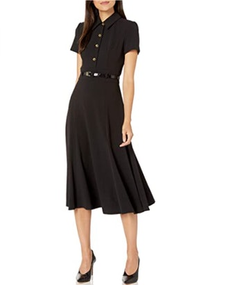 Calvin Klein Front Button Dress