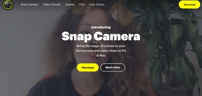 You can download Snap Camera to get filters added to your Zoom call.