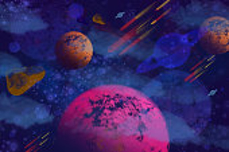 What Are Asteroids In Astrology? They Represent Your Inner Goddess
