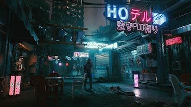 A photo of Night City