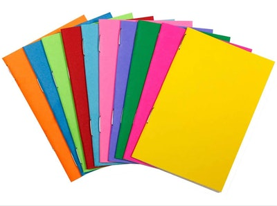 Hygloss Colorful Notebooks (20-Pack)