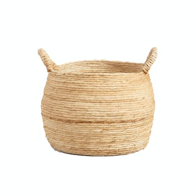 Large Banana Delilah Tote Basket