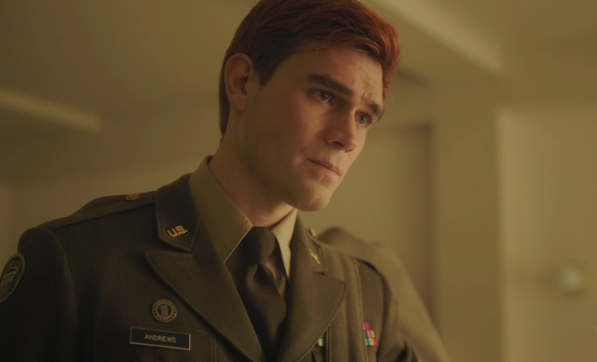 Archie joined the army and became a sergeant on 'Riverdale.'