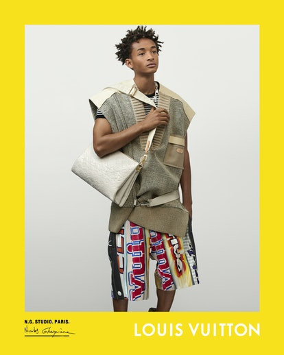 Jaden Smith stars in Louis Vuitton's spring/summer 2021 campaign.