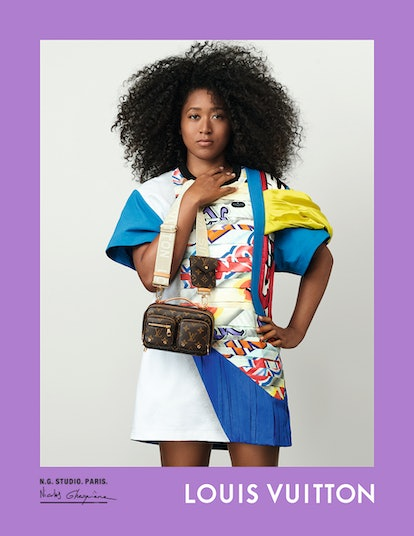 Naomi Osaka stars in Louis Vuitton's spring/summer 2021 campaign.