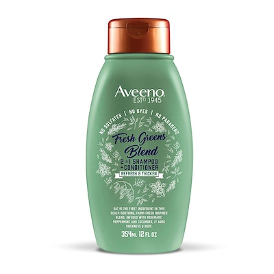 Aveeno Scalp Soothing Fresh Greens Blend 2-in-1 Shampoo + Conditioner