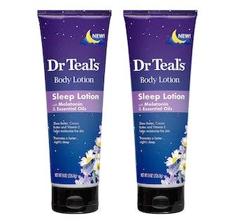 Dr. Teal's Melatonin Sleep Lotion (2-Pack)