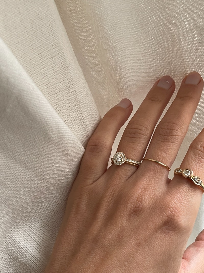 french engagemetn ring trends