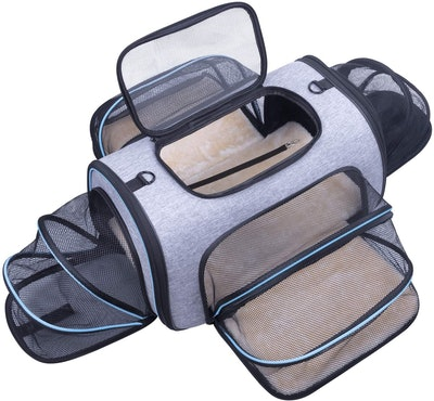 Siivton Expandable Pet Carrier, 20-inch
