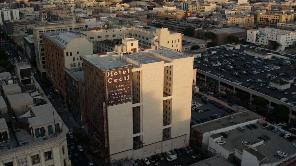 The Hotel Cecil from Crime Scene