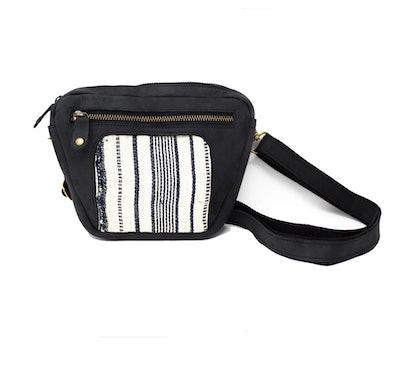 Sadie Crosspack: Black + Cream Country Cloth