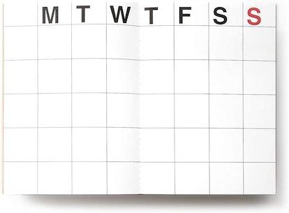 JSTORY Medium Monthly Planner