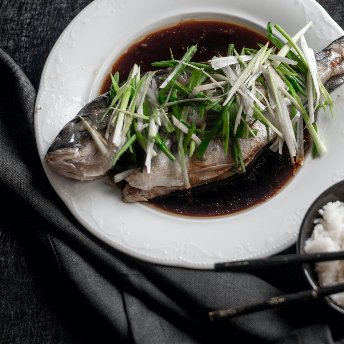 steamed fish lunar new year dishes