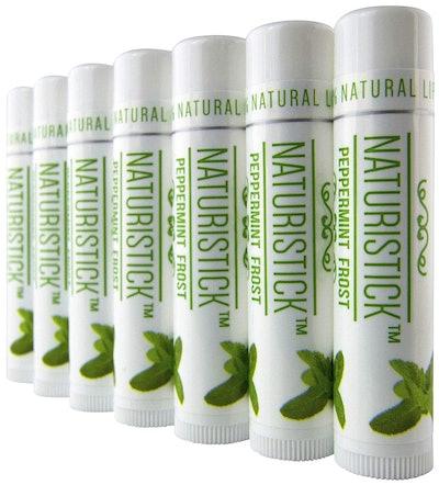 Naturistick Peppermint Lip Balm (7-Pack)