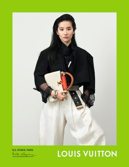Liu Yifei stars in Louis Vuitton's spring/summer 2021 campaign.