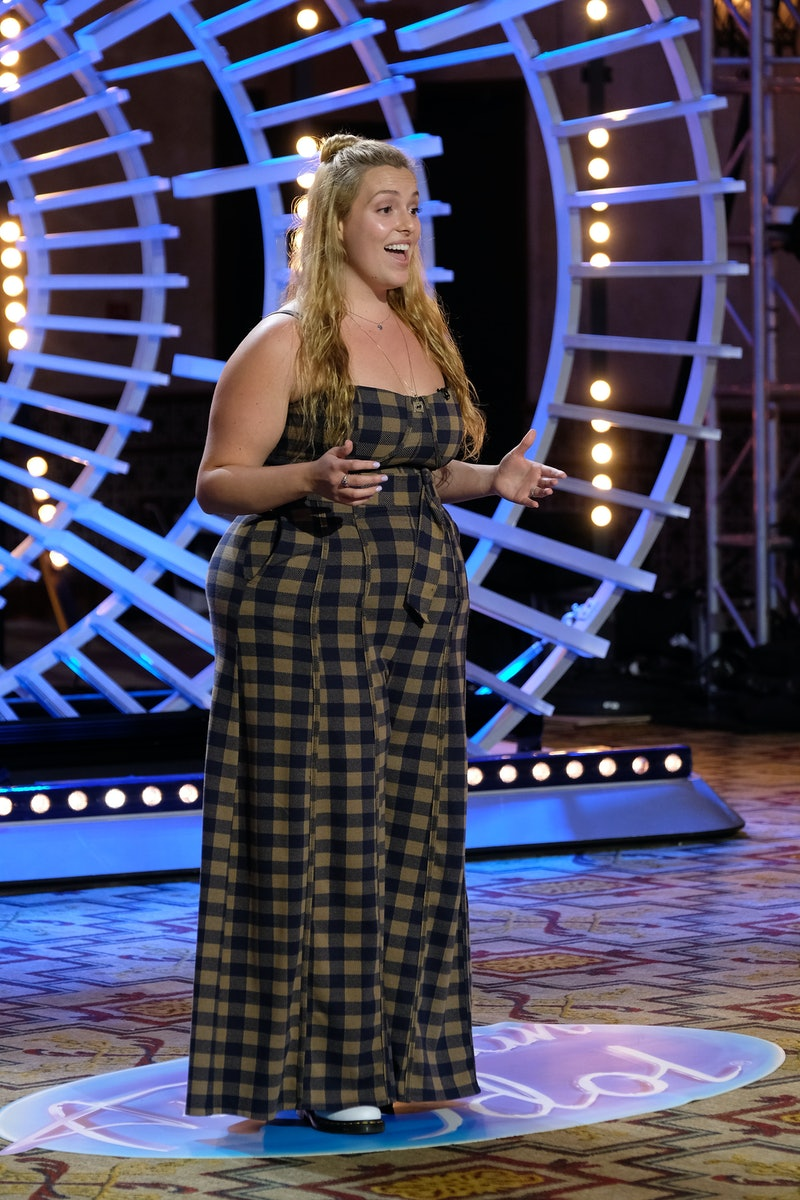 Grace Kinstler auditions for 'American Idol' via ABC Press Site