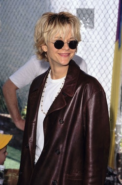 Meg Ryan's '90s hairstyle.