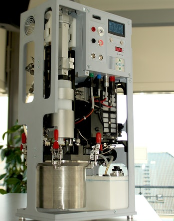 A fuel cell for POWERPASTE.