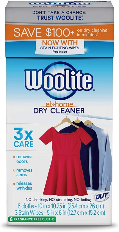Woolite At Home Dry Cleaner (6 Cloths)