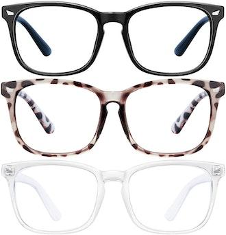 LNEKEI Blue Light Blocking Glasses