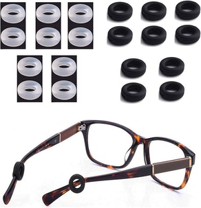 MOLDERP Silicone Eyeglasses Temple Tips (10-Pack)