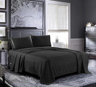 Pure Bedding Microfiber Bed Sheet Set