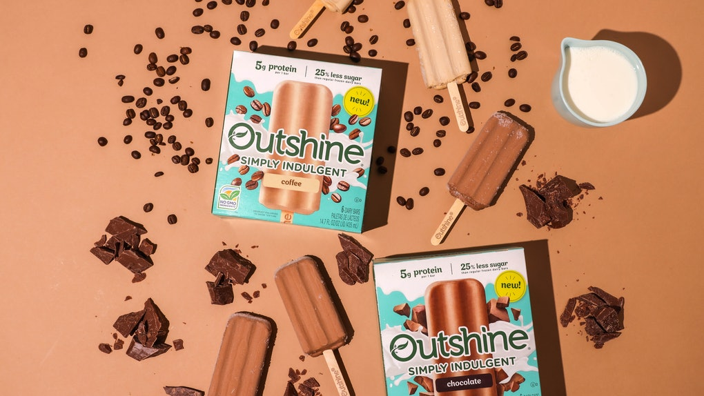 Outshine released a new dairy-based line of frozen treats, including a coffee flavor with 20 grams of caffeine.