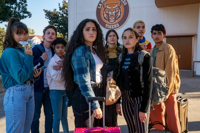The cast of HBO Max's new teen dramedy, 'Genera+ion.'