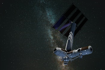 Axiom Space's station in action.