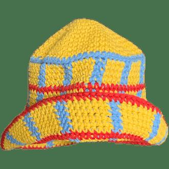 Primary Plaid Hat