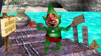 the legend of zelda tingle super smash bros melee