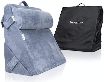Lunix LX6 3-Piece Orthopedic Wedge Pillow Set