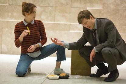 Zoey Deutch and Glen Powell in 'Set it Up.' Photo via Netflix