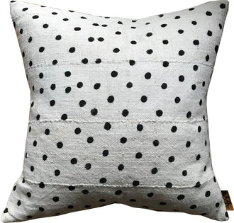 Mudcloth POLKA Pillow Cover