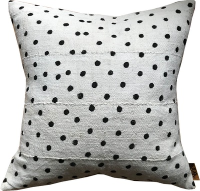Mudcloth POLKA Pillow Cover