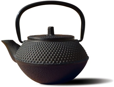 Old Dutch Cast Iron Saga Teapot, 11 oz.