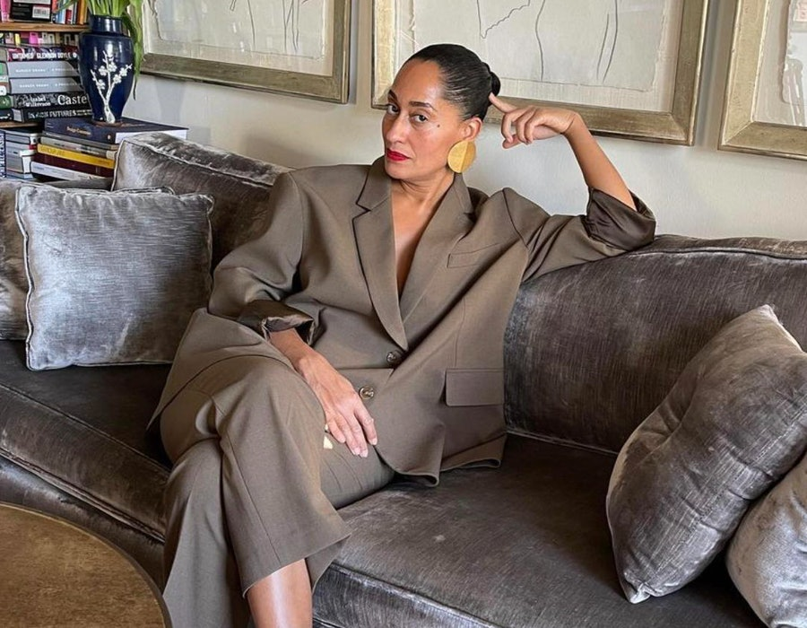 Tracee Ellis Ross posted a photo of herself to Instagram on Jan. 19, 2021.