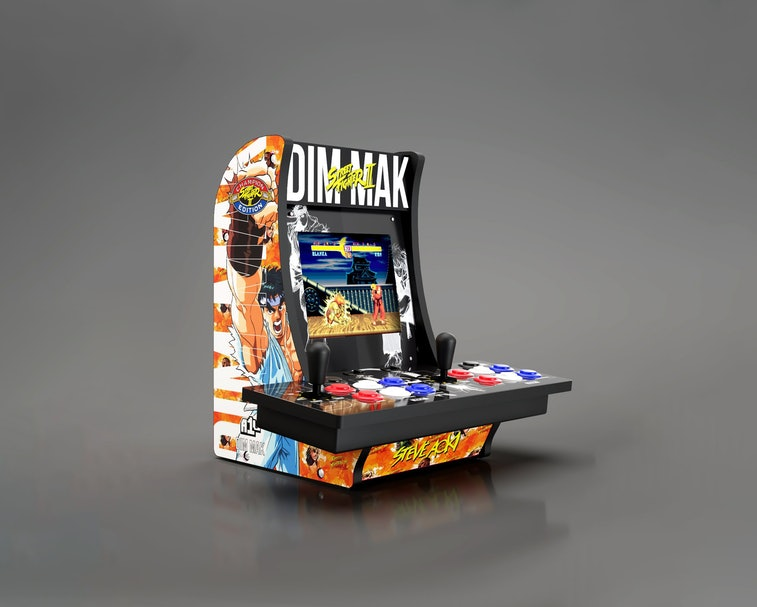 DJ Steve Aoki collaborated with Capcom on a limited-edition Street Fighter arcade cabinet.