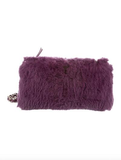 Vintage Fur Shoulder Bag