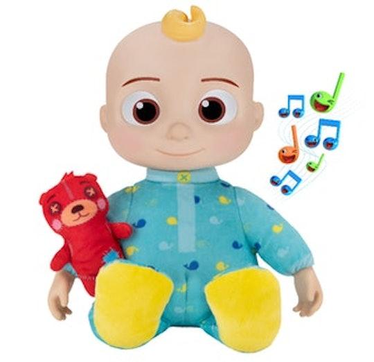 CoComelon official plush jj bedtime doll