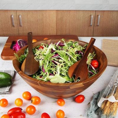AIDEA Wooden Salad Bowl