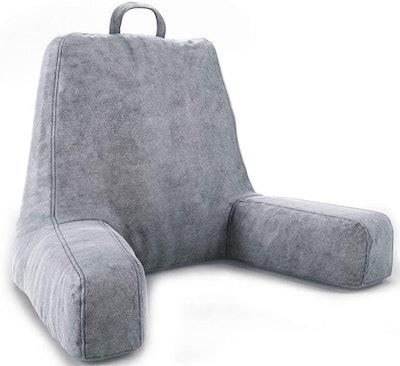 ZIRAKI Plush Shredded Foam Reading Pillow