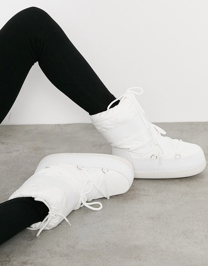 Modesens Snow Boots In White