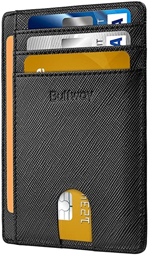 Buffway Slim Leather Wallet